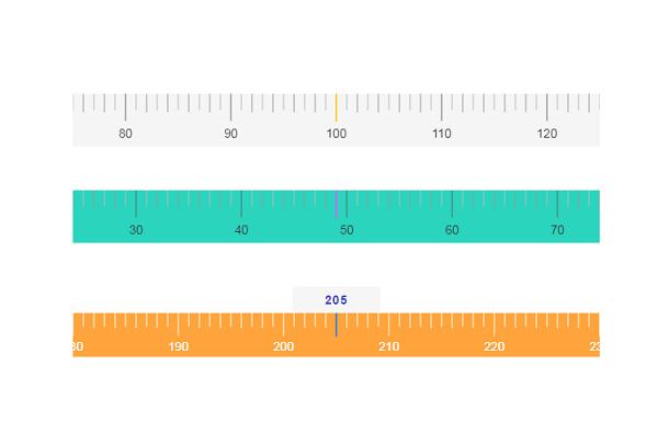 HTML5 Canvas 刻度尺插件【附完整代码】插图