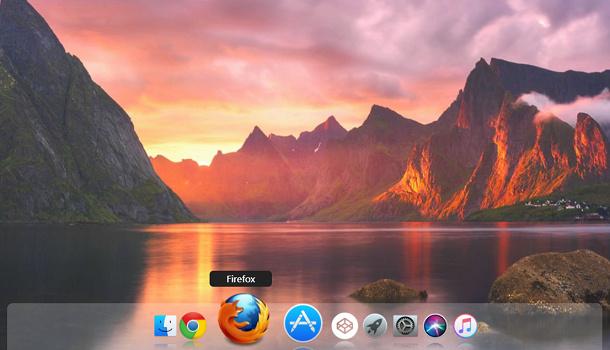 HTML5 纯CSS3实现仿Mac系统底部Dock菜单效果【附完整源代码】插图