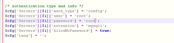 XAMPP修改MySQL root空密码后不能登录 第5张