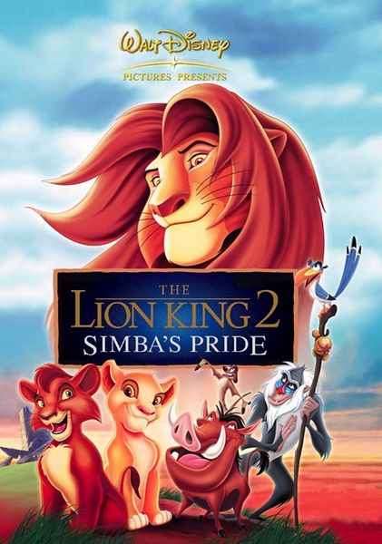 狮子王2:辛巴的荣耀 1998.HD720P 迅雷下载