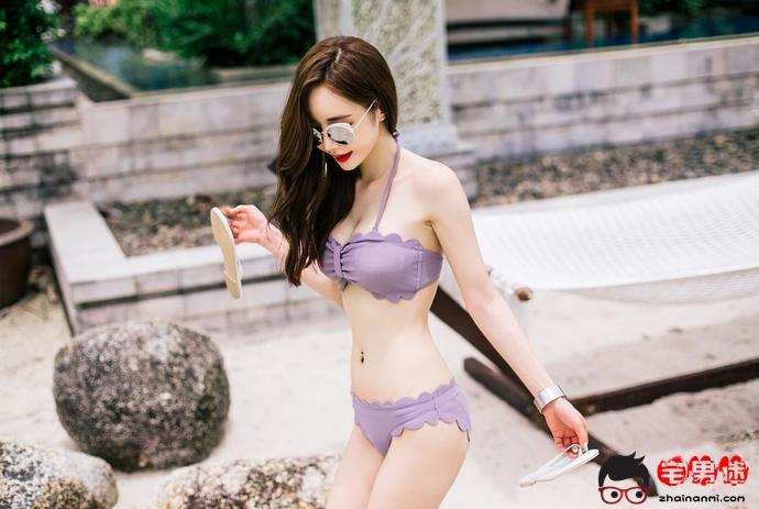 韩国第一网拍女神孙允珠,性感泳装写真!(一)