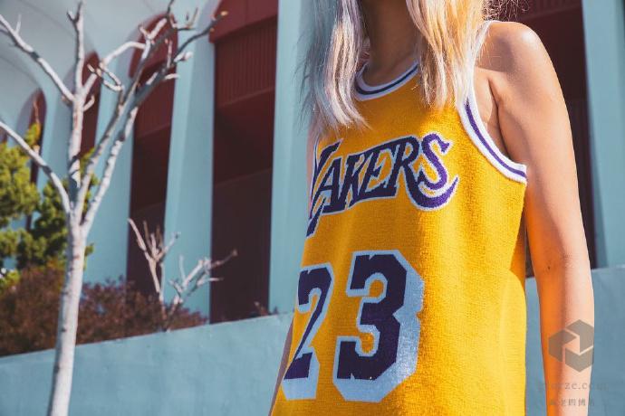 CLOT陈冠希欧阳娜娜NBA球衣高清写真凯尔特人拉丽伯特魔术师约翰逊 第2张