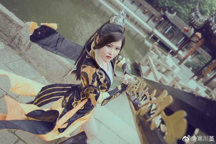 【cos正片】一叶霜溪冷《剑网三》二小姐cosplay欣赏 cosplay-第6张
