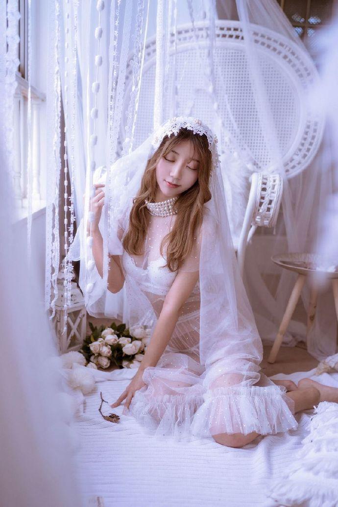 黑川-彼女婚纱-毛衣- (1)