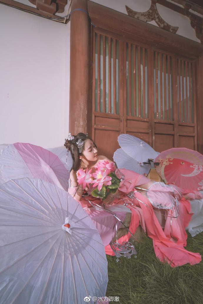 【cos正片】《剑网3九周年》秦风秀姐cosplay欣赏 cos正片-第1张