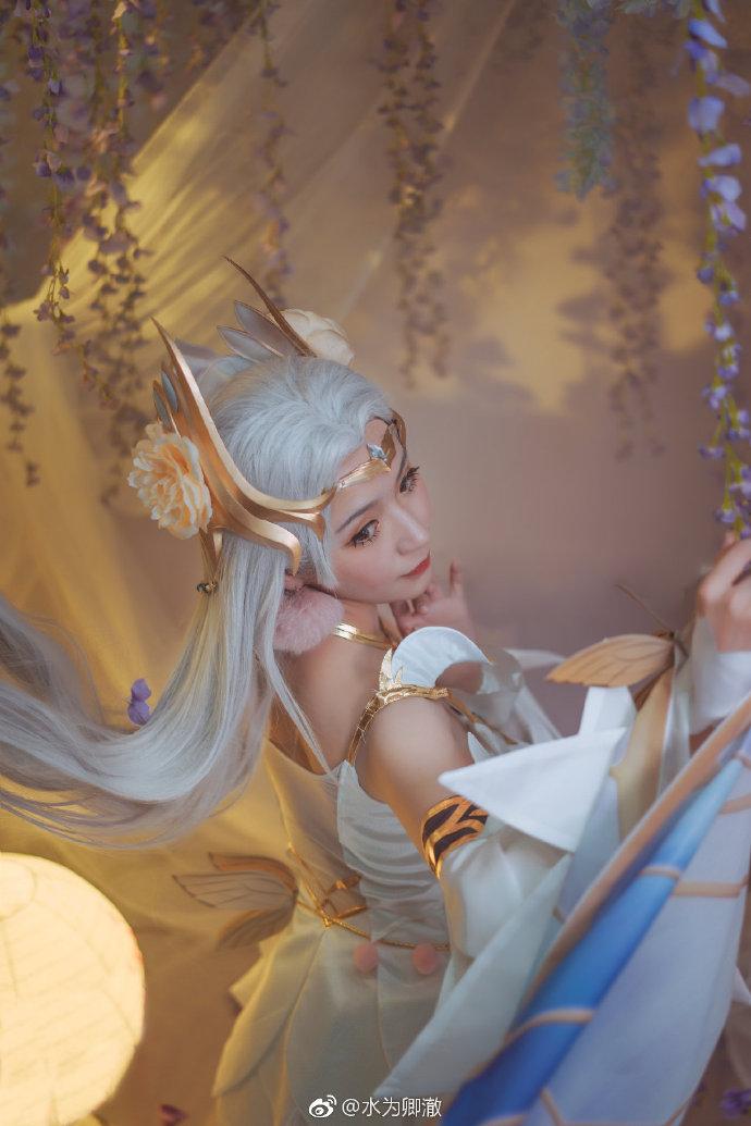 【cos正片】《王者荣耀》貂蝉金色仲夏夜之梦 cosplay-第6张