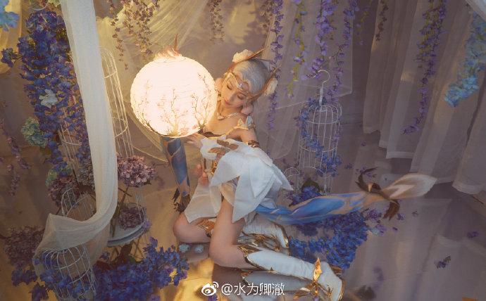 【cos正片】《王者荣耀》貂蝉金色仲夏夜之梦 cosplay-第3张