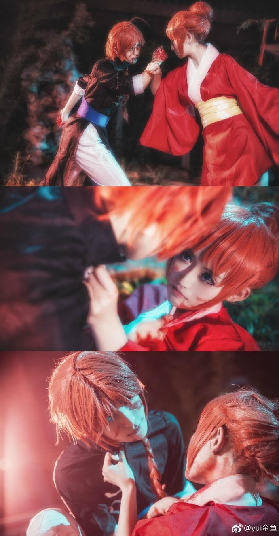 【cos正片】银魂【双神】这是我的猎物哦 cn:yui金鱼 cosplay-第8张