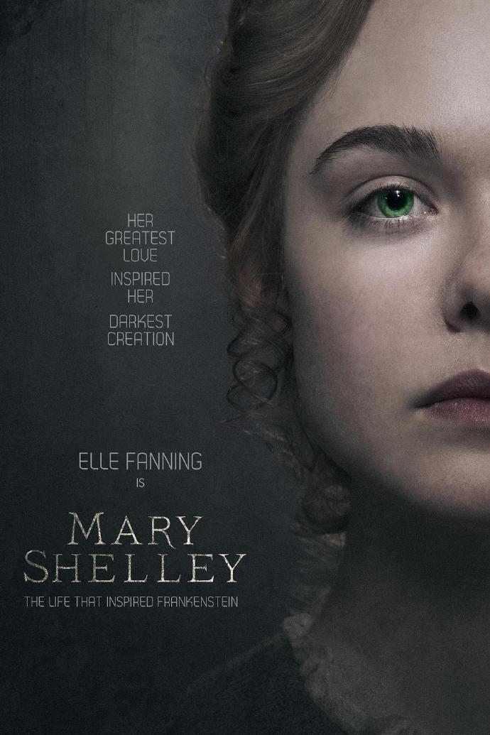 玛丽·雪莱 Mary Shelley 【WEB-DL1080p内嵌中英字幕】【2017】【剧情/爱情/传记】【英国/卢森堡/美国】