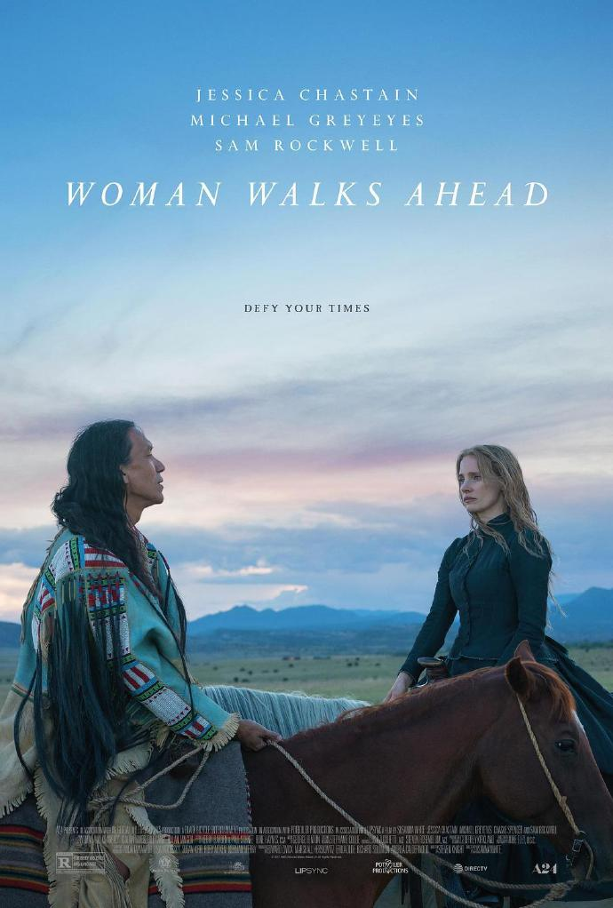 女先行者 Woman Walks Ahead 【WEB-DL720p/1080p内嵌中英字幕】【2017】【剧情/传记/历史/西部】【美国】