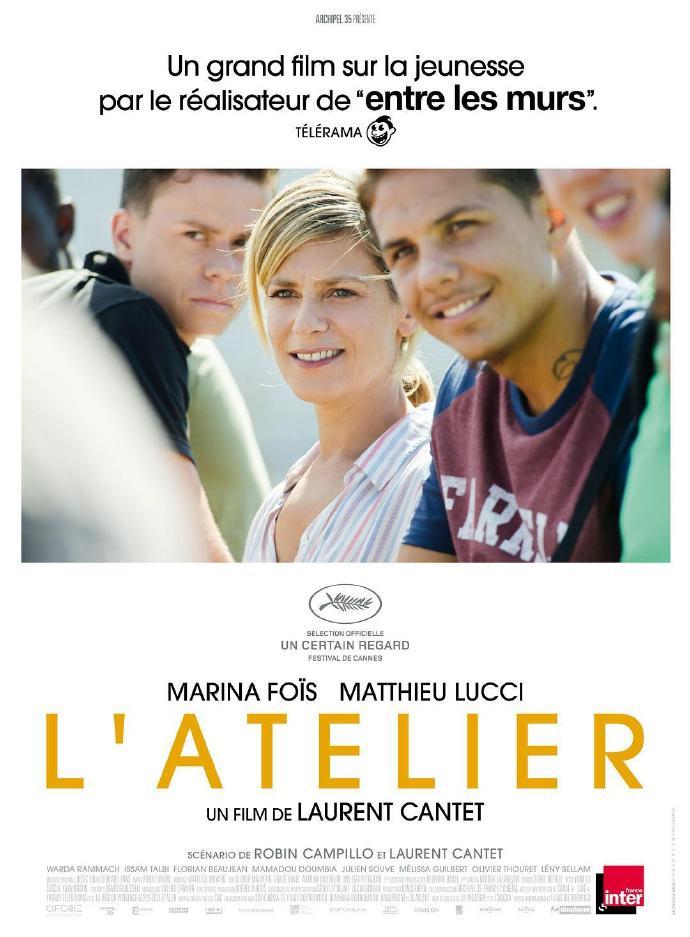 编剧工坊 L'Atelier【蓝光720p外挂中文字幕】【2017】【剧情】【法国/比利时】