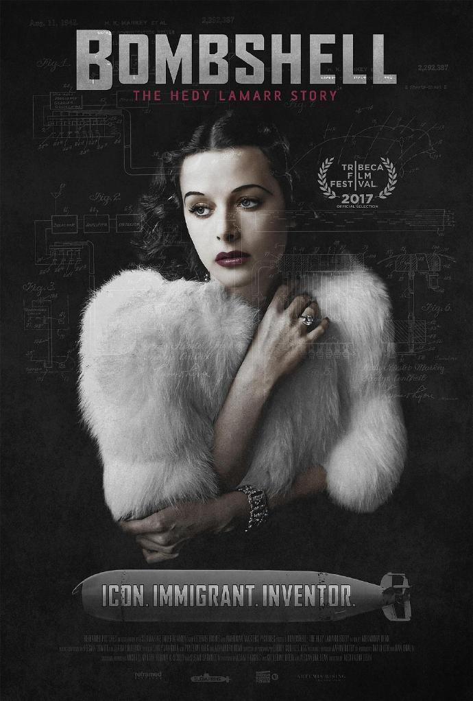 尤物:海蒂·拉玛传 Bombshell: The Hedy Lamarr Story 【蓝光720p/1080p外挂中文字幕】【2017】【纪录片】【美国】