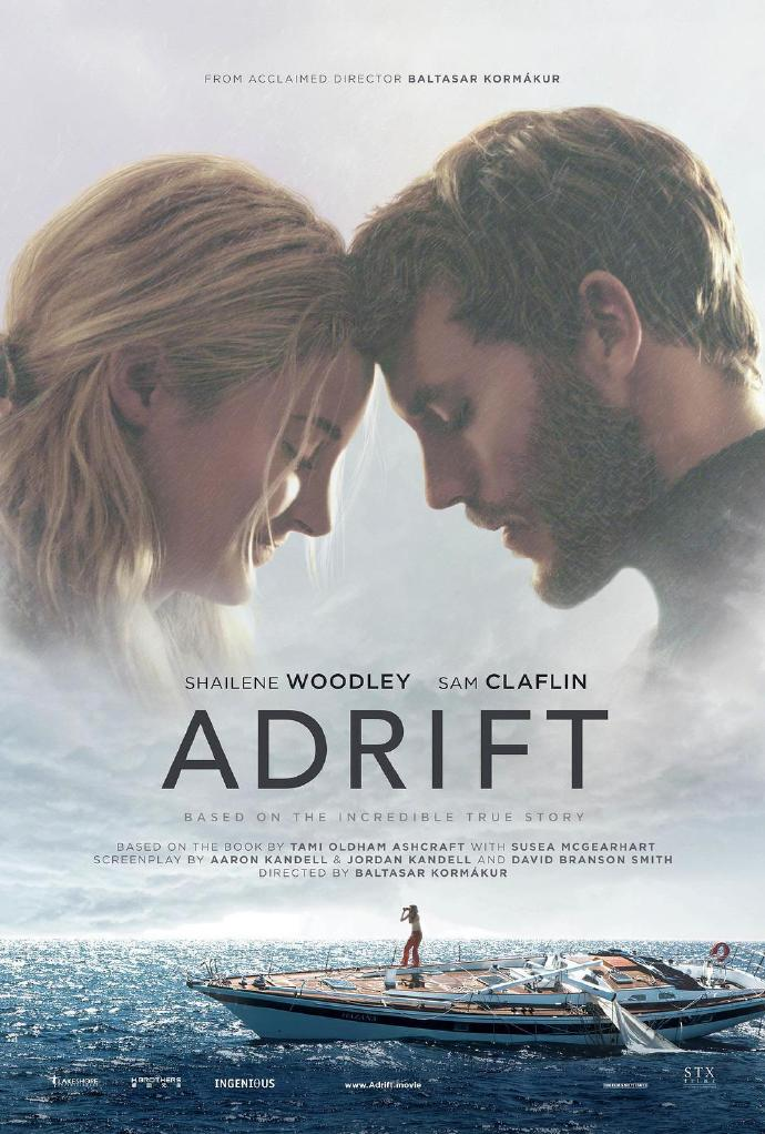惊涛飓浪 Adrift 【WEB-DL720p/1080p内嵌中英字幕】【2018】【爱情/灾难】【美国】