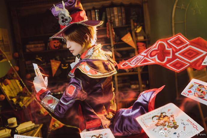 【cos正片】《王者荣耀》同人 李元芳x狄仁杰cosplay欣赏 cosplay-第7张