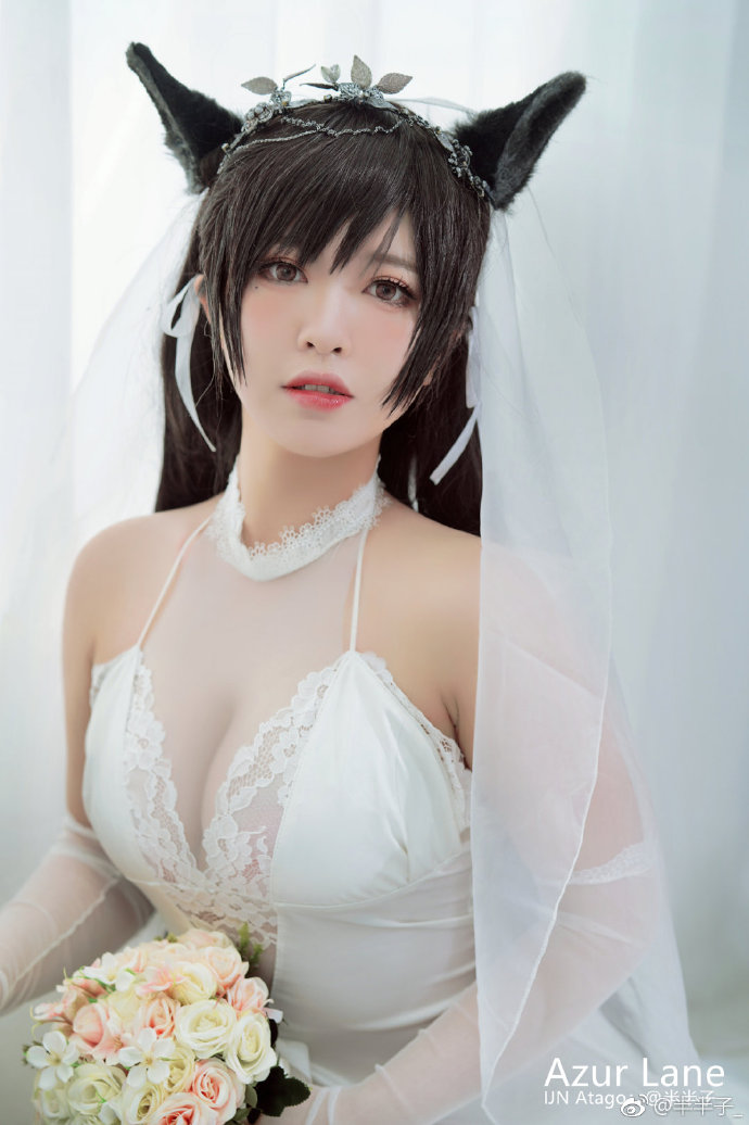 【cos正片】《碧蓝航线 》爱宕白花的誓言 爱宕cosplay欣赏 cosplay-第4张