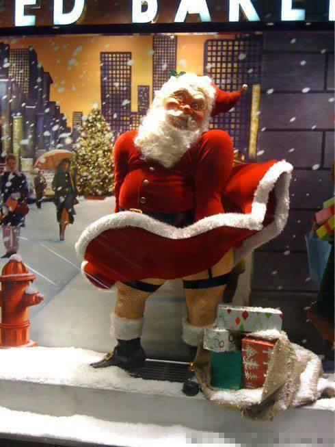 圣诞老头毁童年了