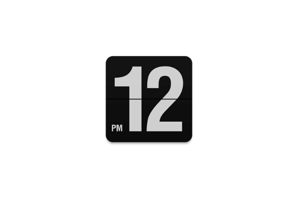 Fliqlo for Mac 1.8.3 屏幕保护程序 数字时钟