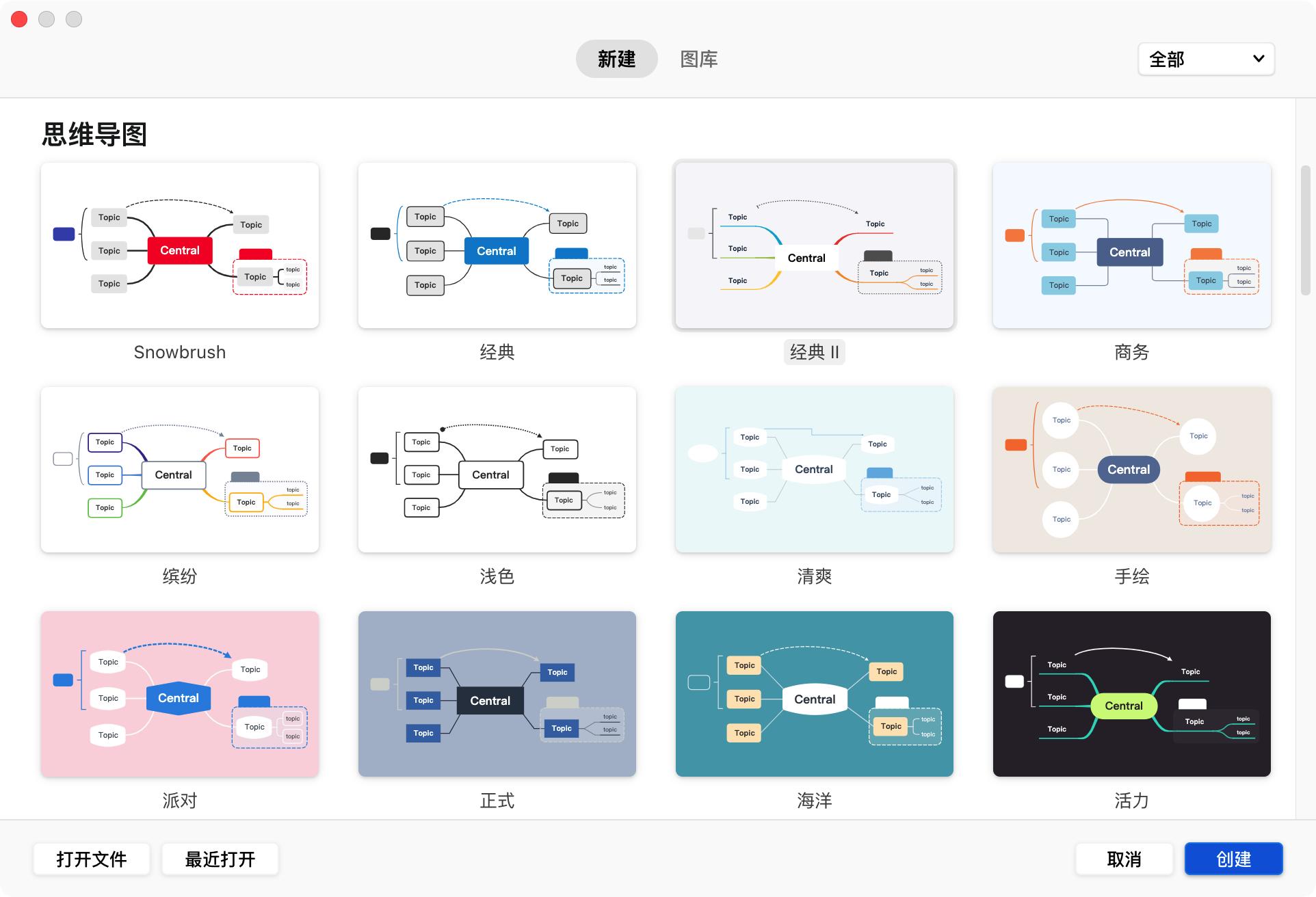 👍 XMind 2020 10.3.1 中文破解版 全新轻量级思维导图软件-马克喵