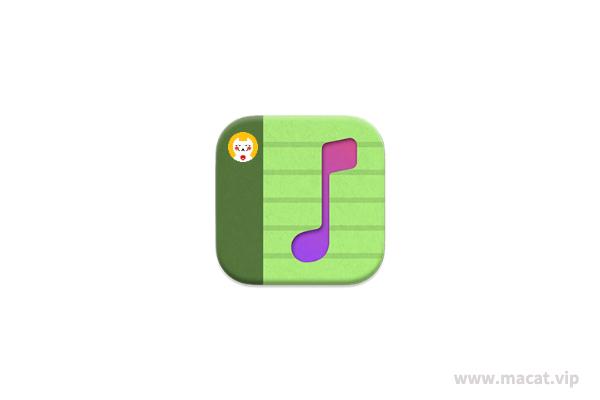 👍 菜单栏及桌面歌词显示 LyricsX for Mac v1.6.2-beta.1 中文版 Touch Bar永久菜单栏及桌面歌词显示,解决QQ音乐不能最小化!