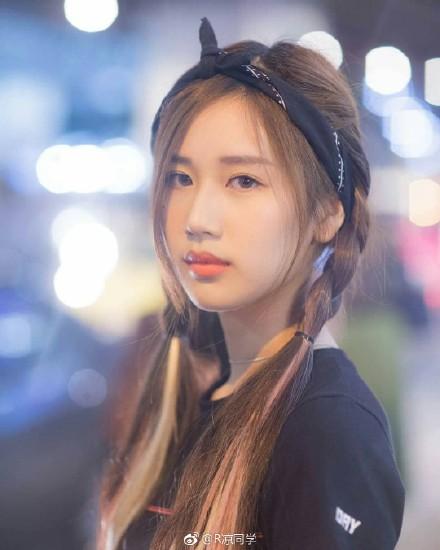 泰国新生代演员叶芷妤,99年出生的中泰混血小美女