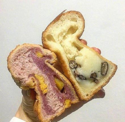 料超级足的面包图片