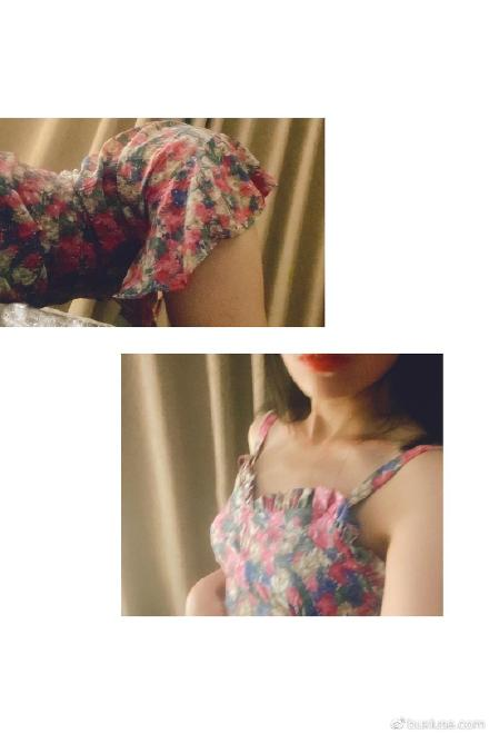 晒个新裙子叭!