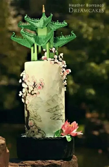 爱福利-蛋糕遇上中国风喜欢吗 liuliushe.net六六社 第2张