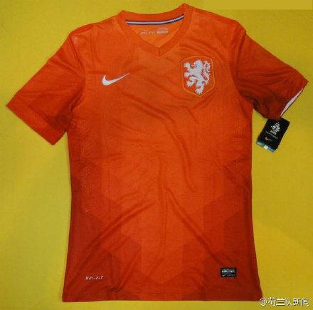 荷兰队2014年世界杯队服