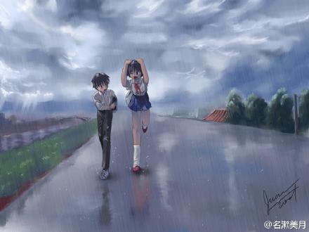 雨后小故事动漫版