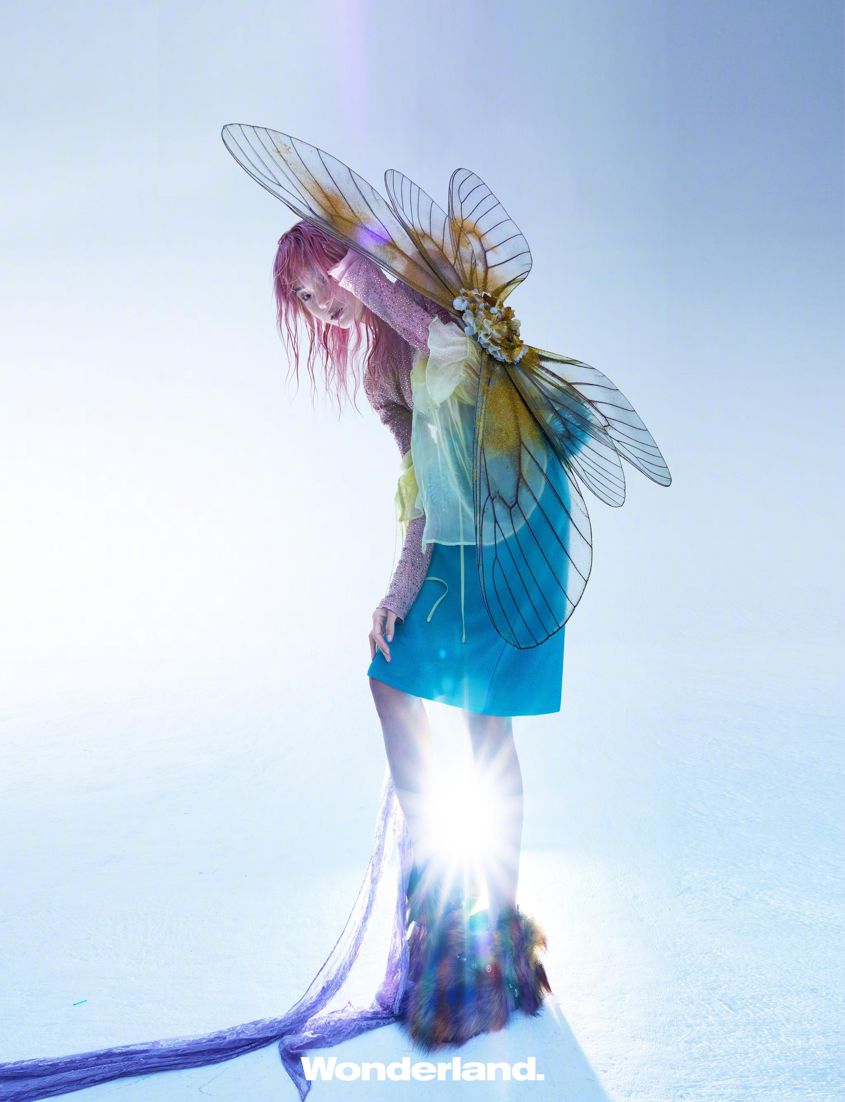 公主日记雎晓雯Wonderland九月刊封面大片...美女 公主日记 第1张