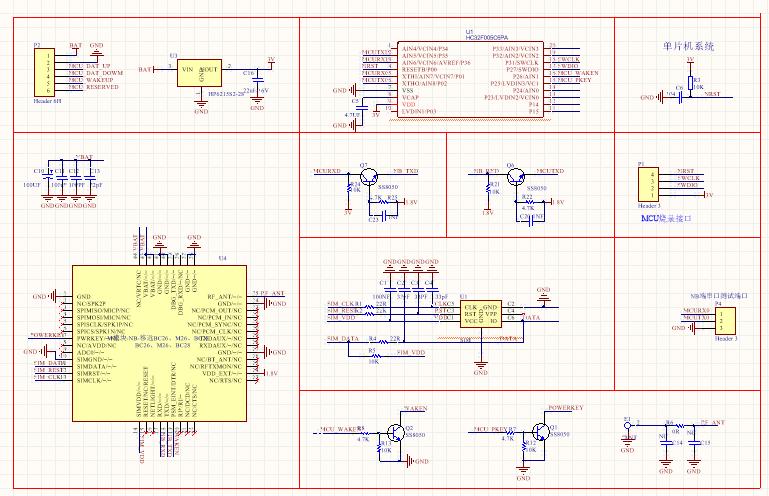 NB-Iot烟感04:BC26模块原理图设计