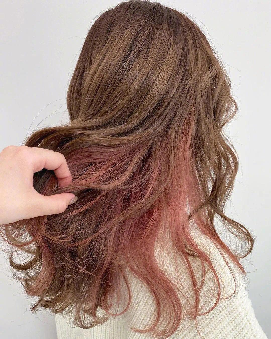 超A挂耳染 瞬间把妆容变得高级的发色