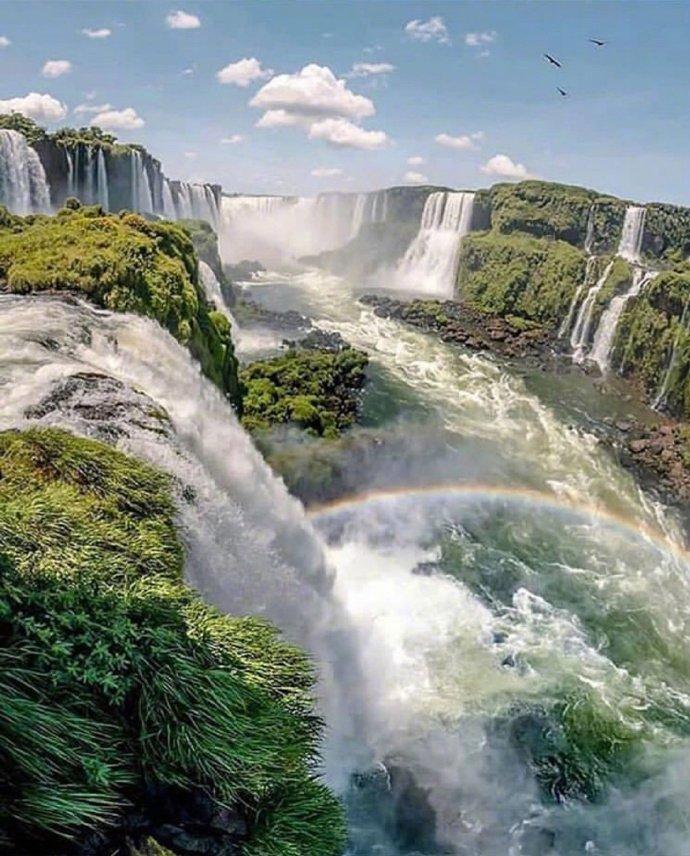 阿根廷伊瓜苏瀑布,世界上最宽的瀑布