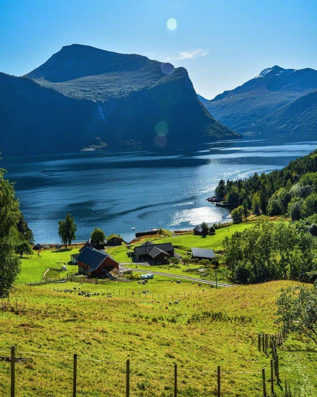 北欧之夏。太美了,令人向往的地方