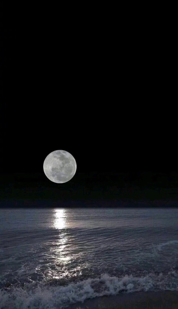 热爱且温柔的晚安说说句子,清新美丽的图片,可以摘抄哦