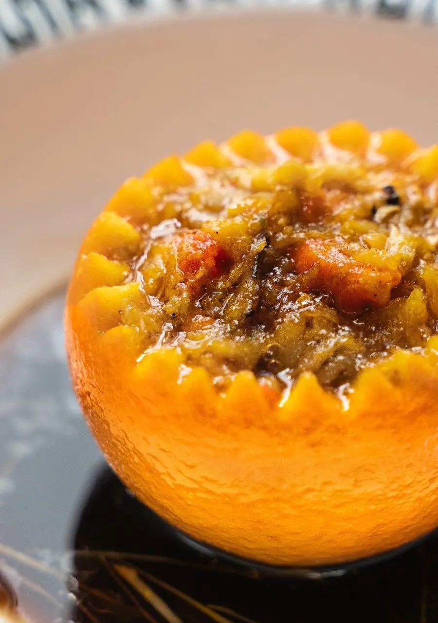 蟹酿橙,传承至今的南宋味道。摄影/amy胡乱拍,图/图虫·创意