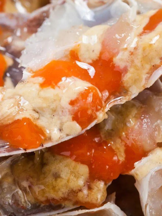 """螃蟹这晶莹剔透的汁水中,透着东海的""""鲜""""。摄影/LeslieWang,图/图虫·创意"""