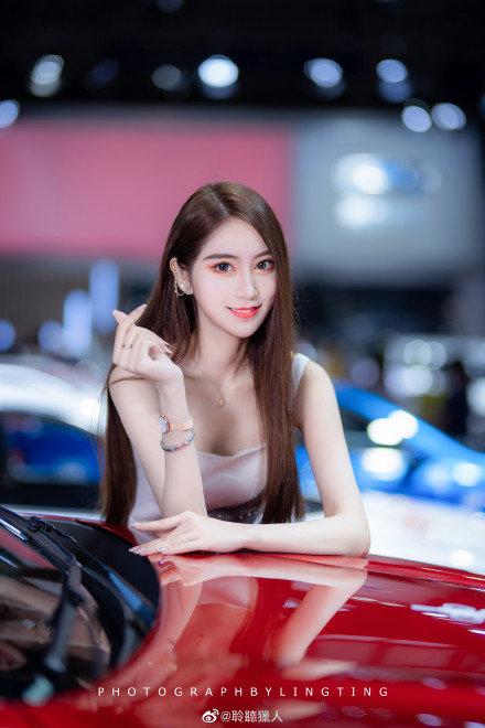 #深港澳车展#车模小姐姐「于芷晴」内地新生代宅男女神!