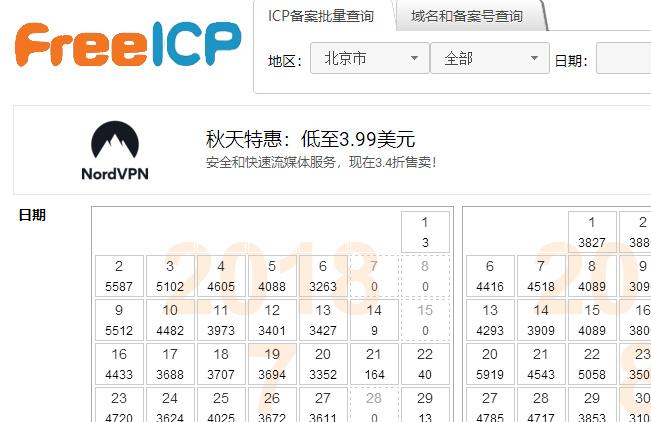免費ICP查詢,最新icp備案查詢
