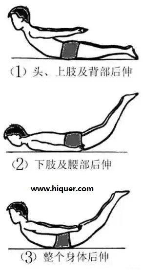 小飞燕:一个保健动作缓解胸椎椎间盘突出 涨姿势 第1张