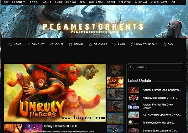 游戏网站pcgamestorrents,绕开国内3大妈游侠游民 老司机 第1张