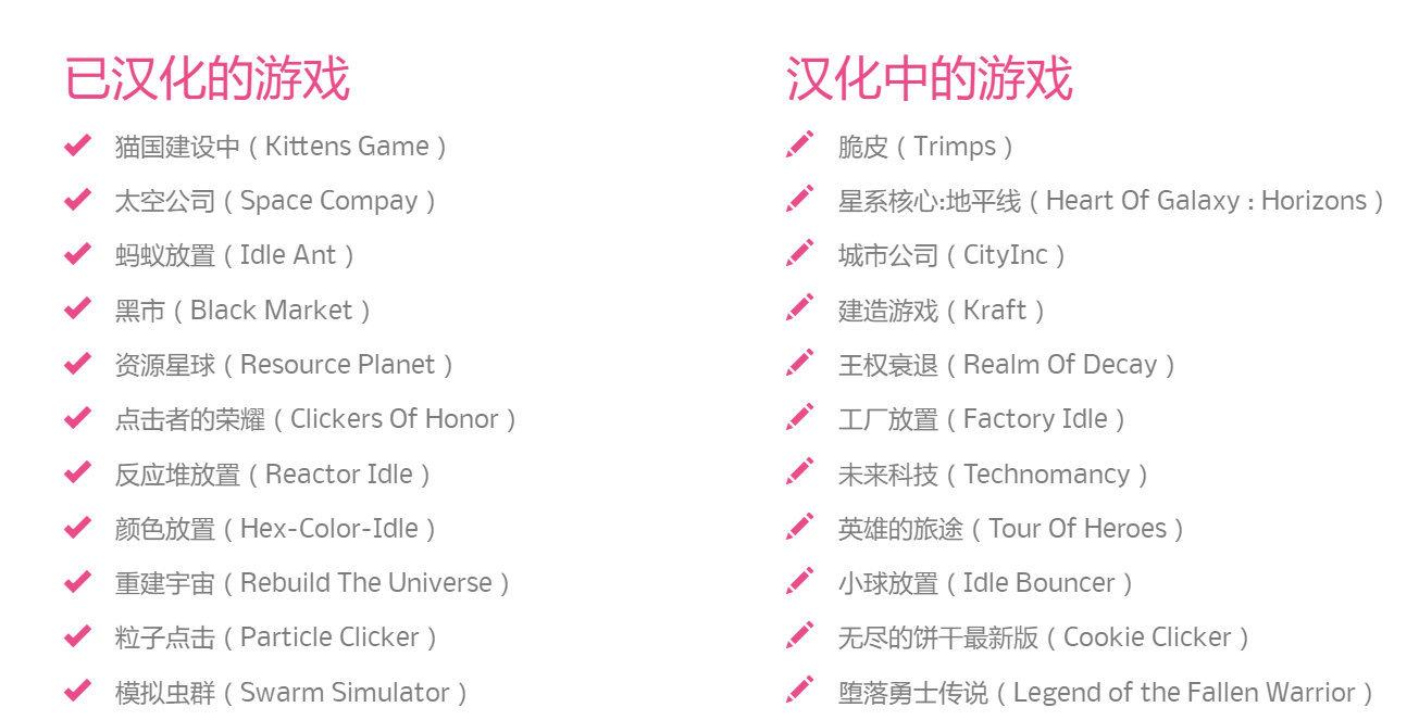 Github Games游戏汉化