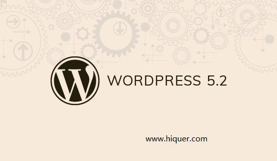 WordPress 5.2 beta 2发布,支持最低版本的PHP 5.6.20 维护记录 第1张