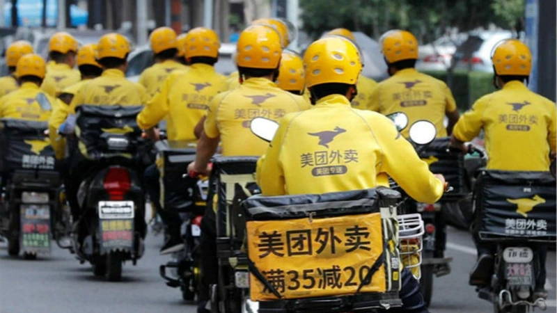 美团:近1000万外卖骑手属于外包,直接负责会增加企业负担的照片 - 1