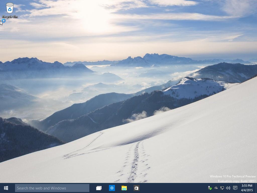 Win10下载 Windows 10 Build 10051 系统下载的照片 - 2