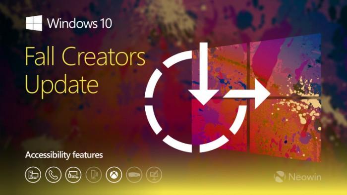 Win10秋季创意者更新:无障碍易用性大幅提高的照片