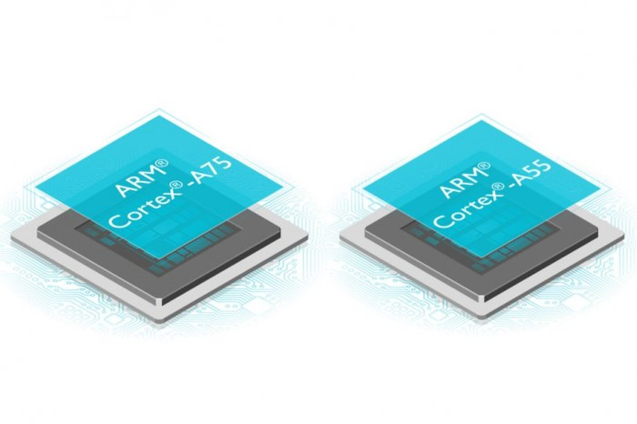 ARM发布基于ARM DynamIQ技术的全新移动处理器A75、G72的照片