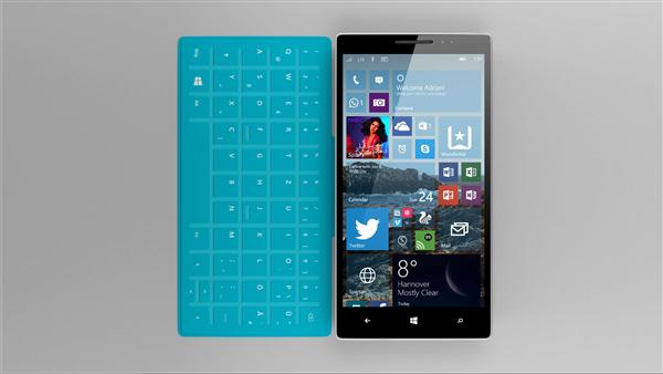 Surface手机正式现身:运行桌面程序、带铰链的照片 - 1