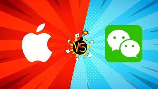 微信叫板苹果背后:苹果抽成是一视同仁还是恃强分羹的照片