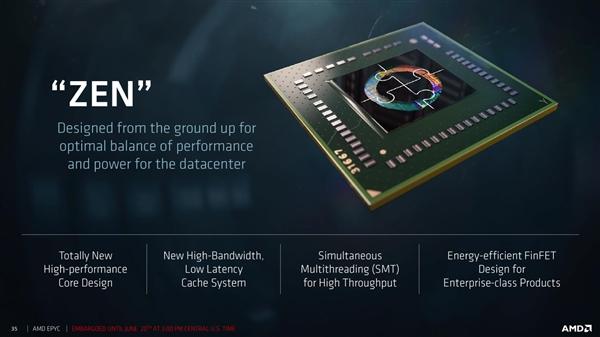 32核归来 AMD EPYC服务器处理器正式发布的照片 - 1